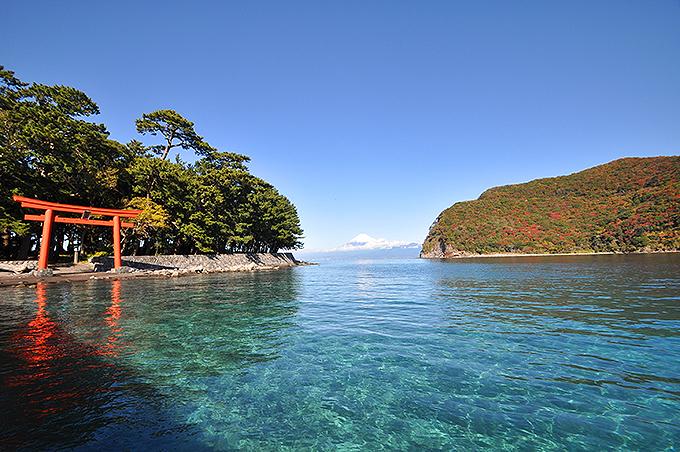 伊豆半島ジオパークの「御浜岬」