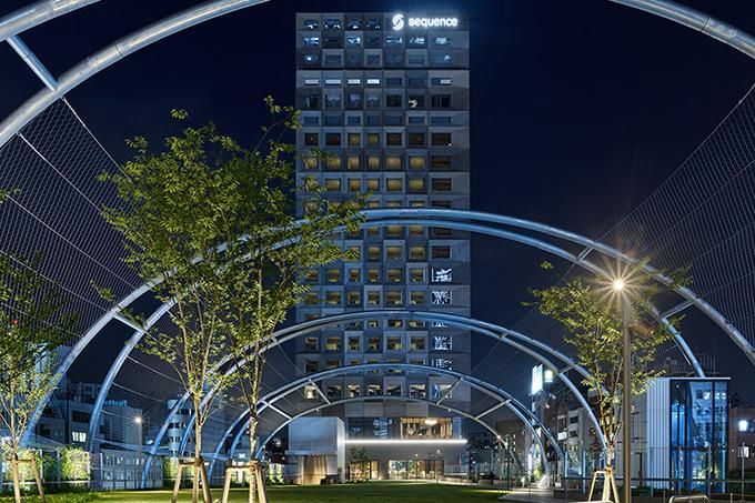 渋谷のど真ん中に建つ次世代型ホテル「sequence MIYASHITA PARK」