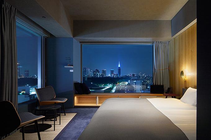 渋谷の街並みが一望できる多彩な部屋タイプ