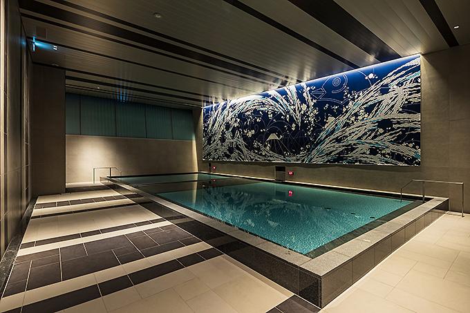 開放感がすごい大浴場「潮の湯」