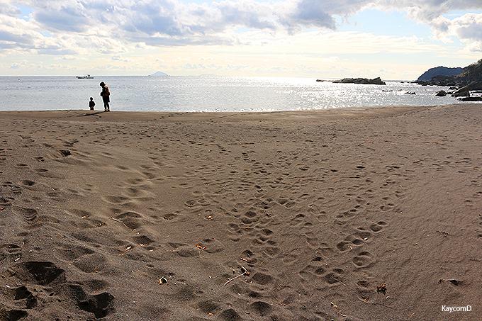 伊東の穴場ビーチ「赤沢海岸」