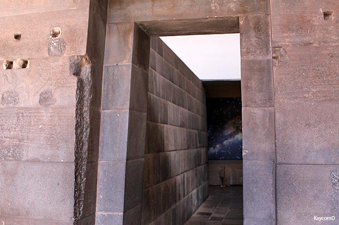 異なる宗教建築が見られる「サント・ドミンゴ教会」と「太陽の神殿」