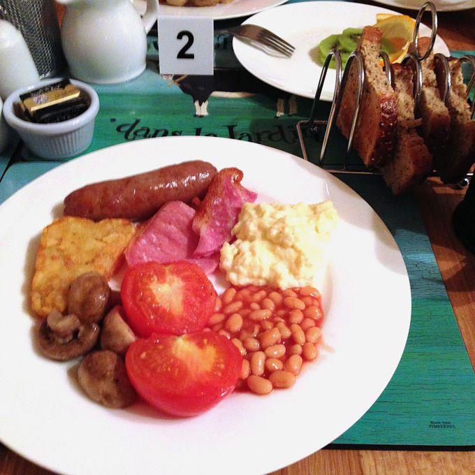 B&Bに宿泊してイギリス伝統の朝食を!