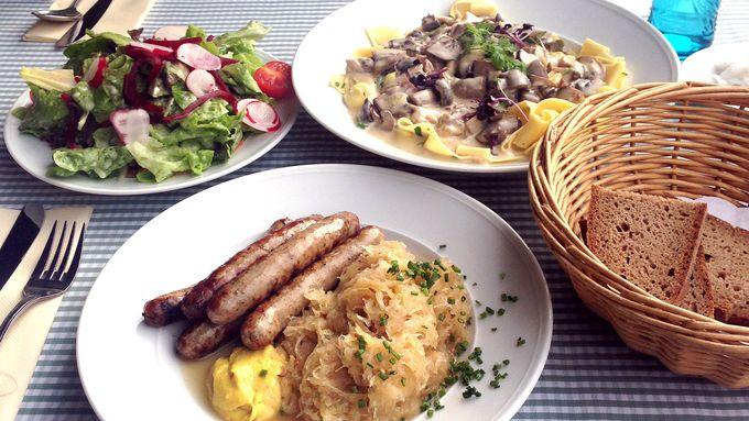 マイン川沿いのレストラン「アルテ・マインミューレ」