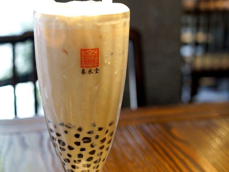 台湾「春水堂」はタピオカミルクティー発祥の店!至福のティータイムを