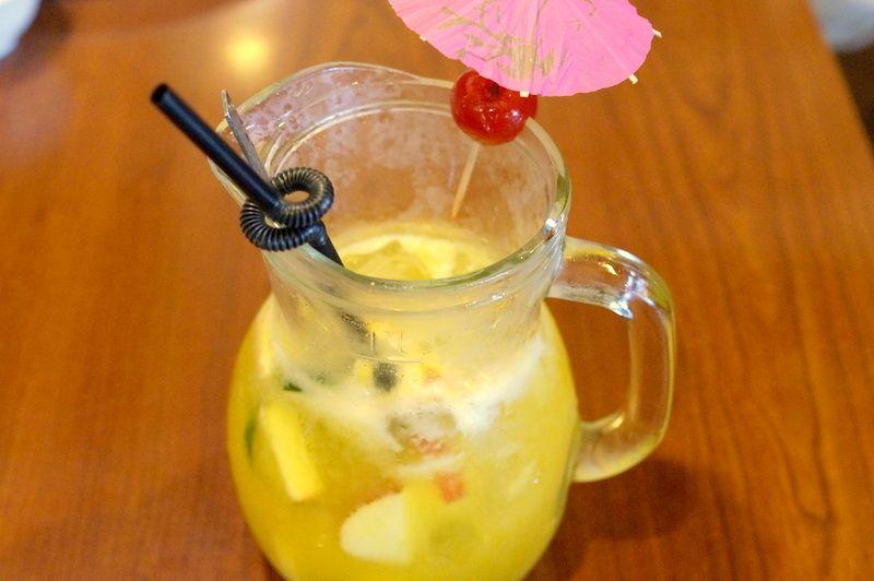 台中「香蕉新楽園」一番人気はフルーツティー!
