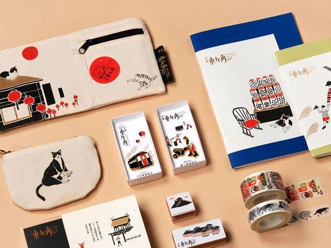 台湾の可愛い雑貨お土産ならこれ!レトロな「来趣東北角」は女子も猫好きも必見