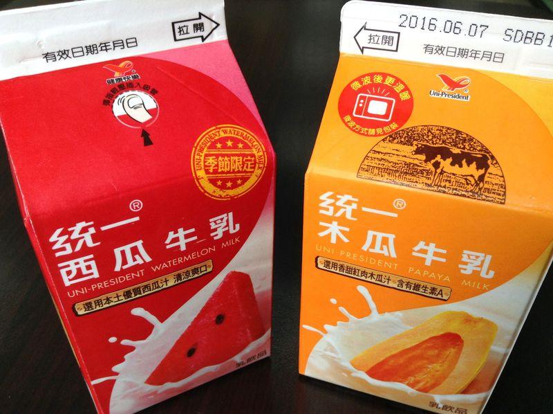 台湾コンビニ紙パックの飲み物おすすめ5選!スイカミルクから杏仁茶まで