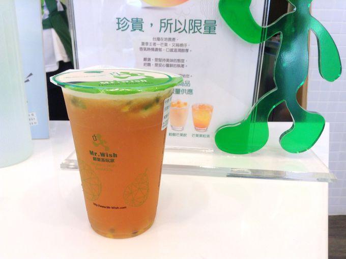 夏にはマンゴーの各種ドリンクも!「Mr.Wish」の「水果茶」