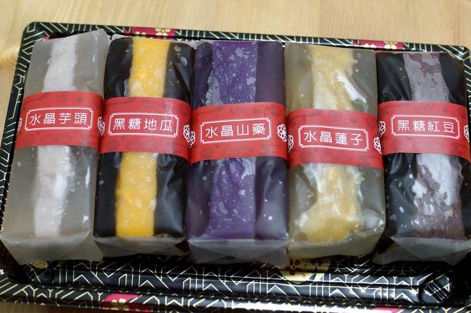 材料にもこだわった「水晶ガオ」は台湾らしいおやつ