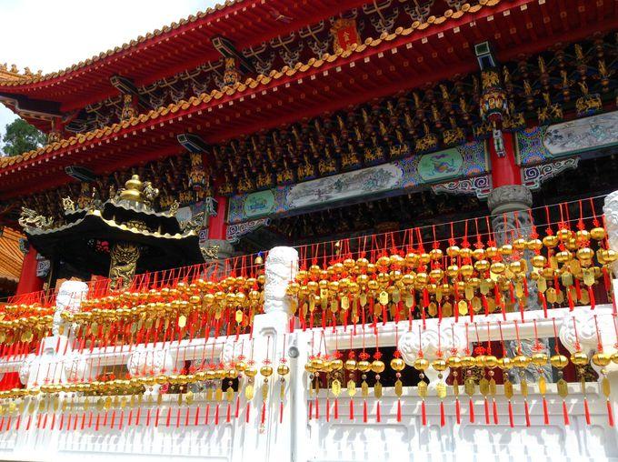 「文武廟」の壮麗な建築と孔子・関羽・岳飛