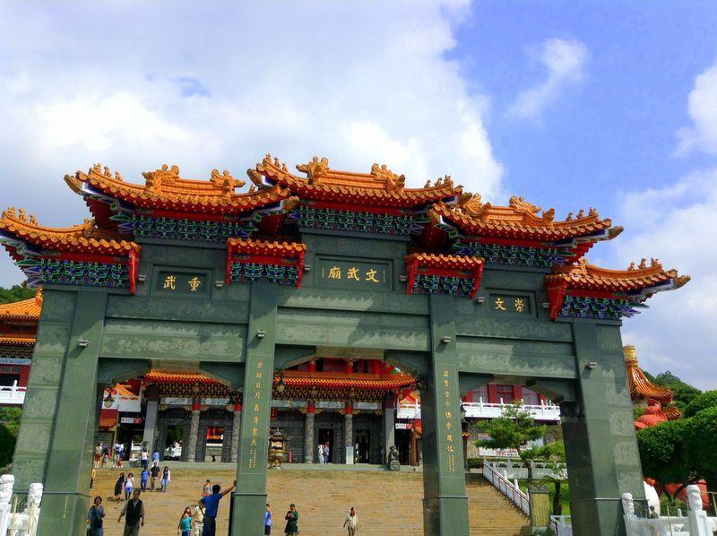 ドラえもんの名前も!?台湾・日月潭「文武廟」は孔子と関羽が一緒の寺
