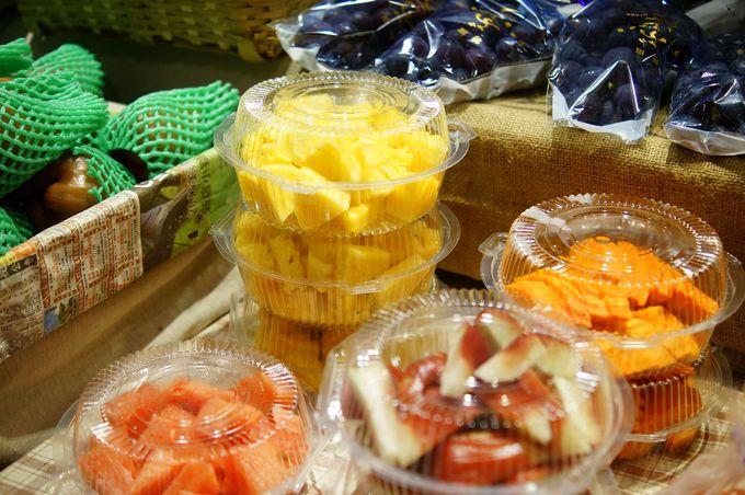 「第六市場」は美味しい台湾フルーツなども味わえる場所