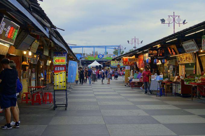 花蓮市の「東大門夜市」は整備された観光夜市