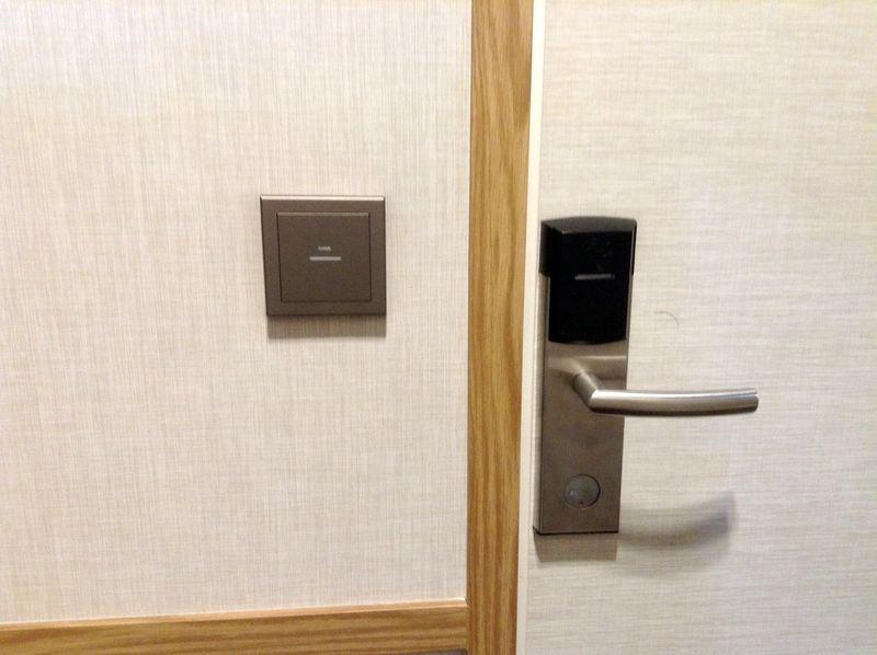 カードキーでセキュリティの面も安心