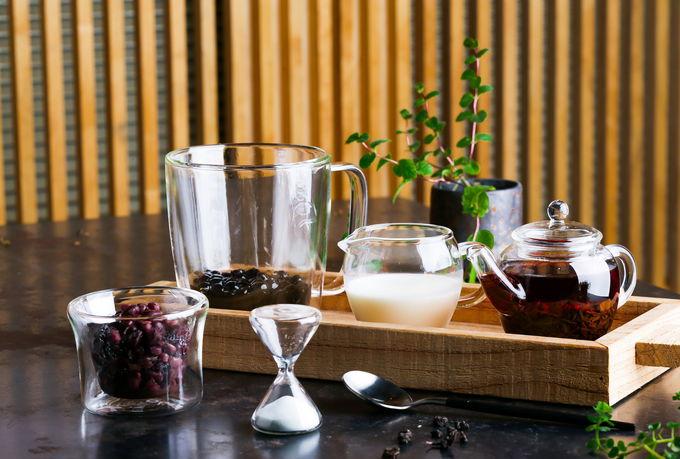「喝茶天Teaday」ではおしゃれなタピオカミルクティーも人気!