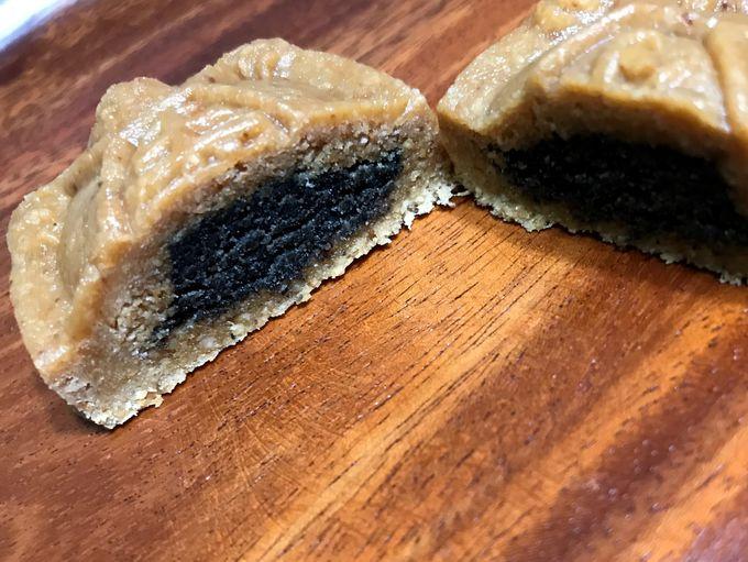 人気の「平安亀」はピーナッツ味