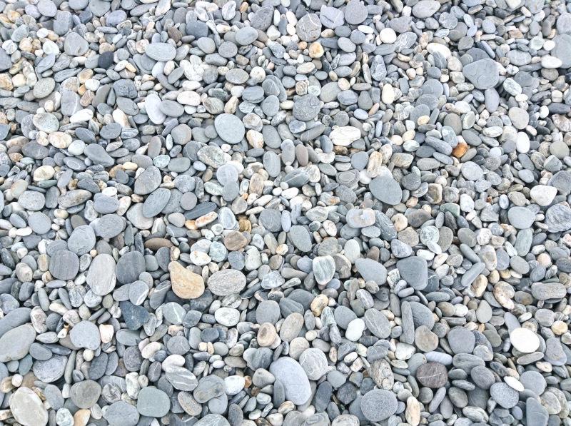 珍しい石の海岸!「七星潭」
