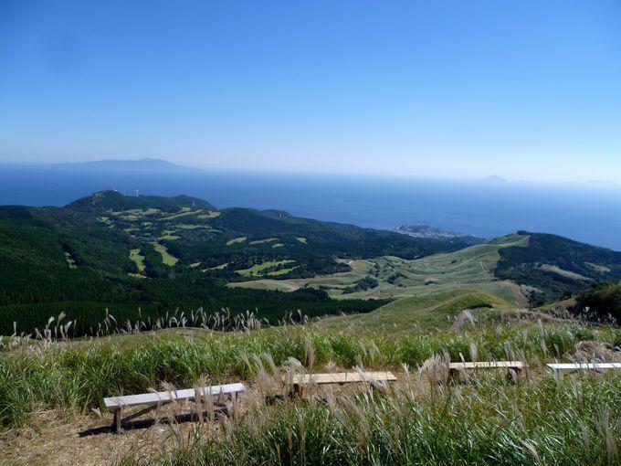 伊豆諸島や天城連山が望める眺望の良さ!