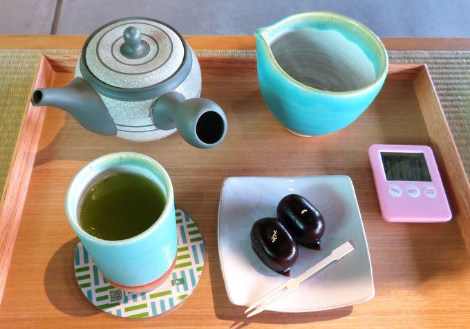 蓬莱橋897.4茶屋で、美味しいお茶はいかが?