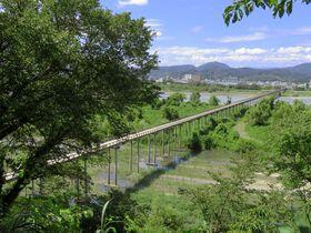 蓬莱橋・渡れば897.4(厄無し)!島田の世界一長い木造歩道橋とは