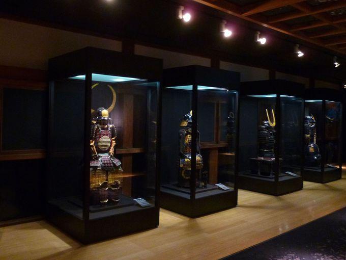 プロジェクションマッピングが美しい!常盤木門SAMURAI館