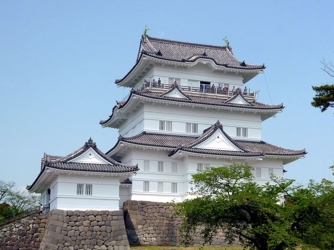 平成の大改修で魅力アップ!難攻不落・無敵の城「小田原城」