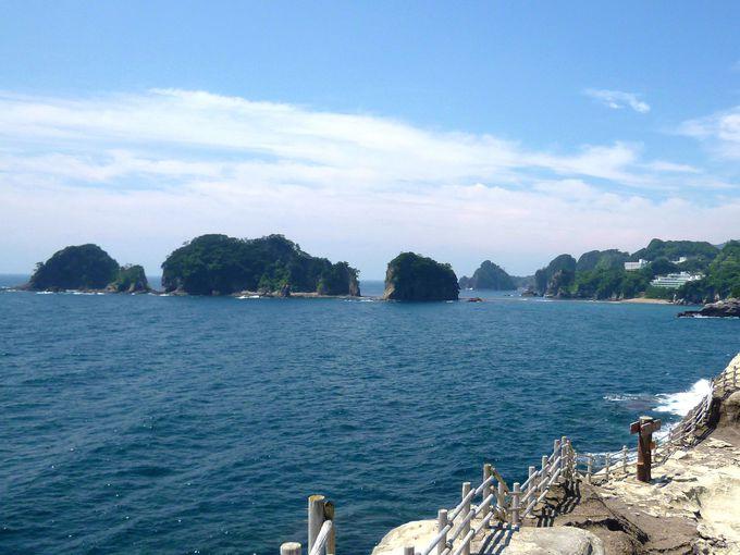 堂ヶ島ならでは!「三四郎島」が眺められる宿と温泉