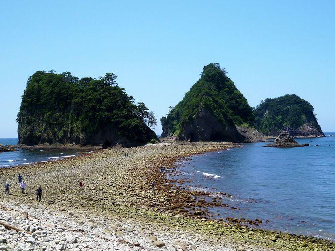 トンボロ現象に島の数が変わる!不思議の島「三四郎島」