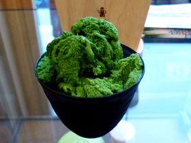 ななやの真髄「世界でいちばん濃い抹茶ジェラート」!ななや藤枝本店