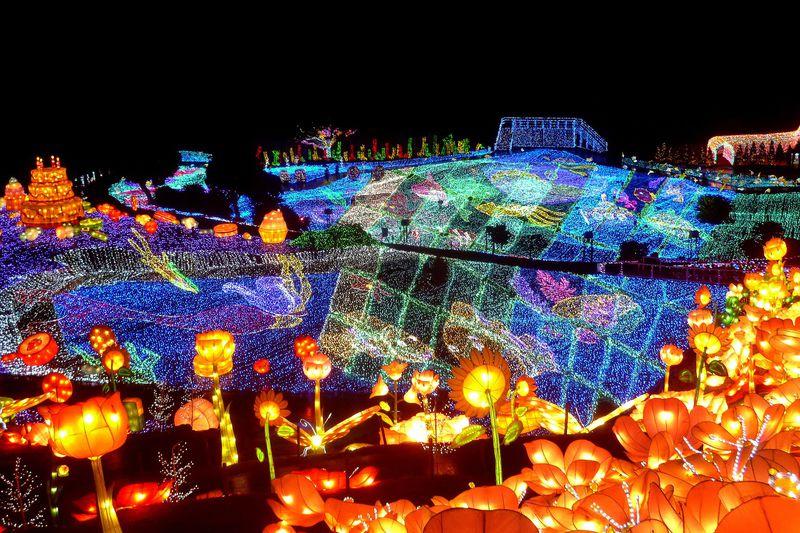 伊豆ぐらんぱる公園「グランイルミ 3rdシーズン」600万球&立体験型イルミがもの凄い!