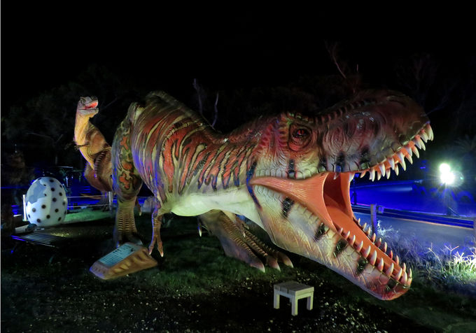 ディノエイジカート&ディノエイジウォークで恐竜体験!