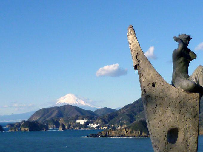 マーガレットラインから「富士見彫刻ライン」へ!