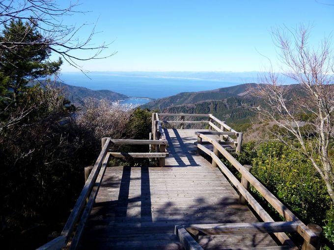 拝むと芸事が上達!戸田峠の絶景スポット「瞽女展望地」