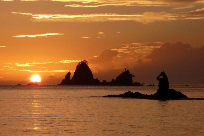 秋が狙い目!日本一の夕陽スポット「大田子海岸」(静岡)