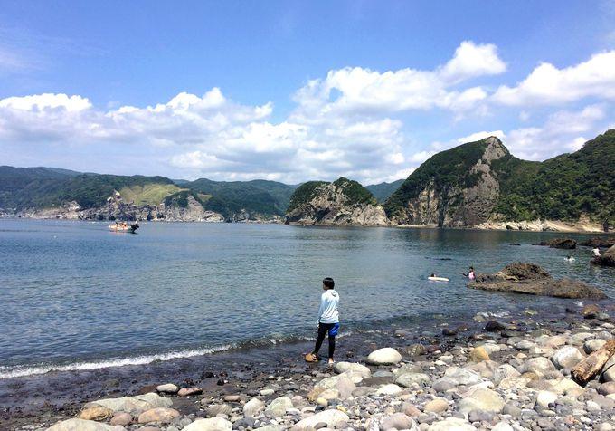 南伊豆の秘境「谷川浜」を堪能!