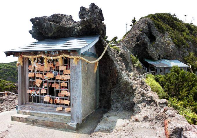 縁結びの神様「熊野神社」の先は、伊豆最南端の絶景!