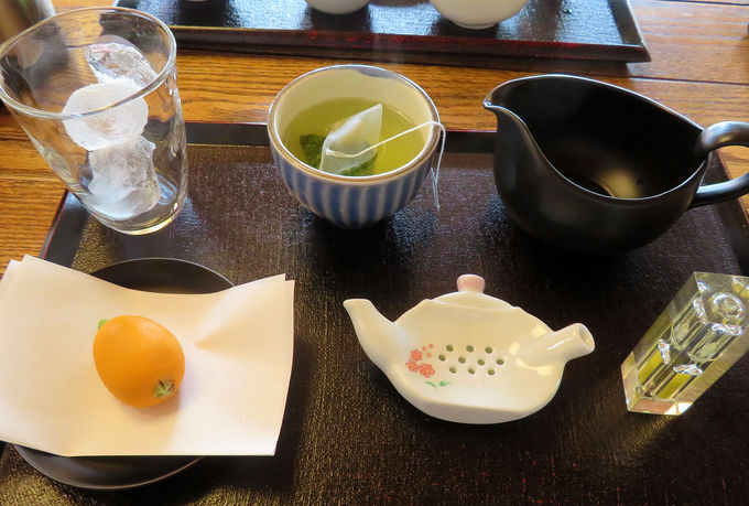 体験型カフェ「茶の芽」で本山茶を堪能!