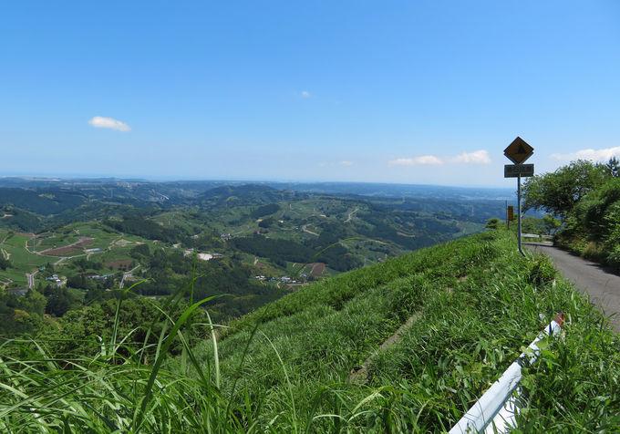 茶文字の山・粟ヶ岳のかっぽしテラスに行ってみよう!