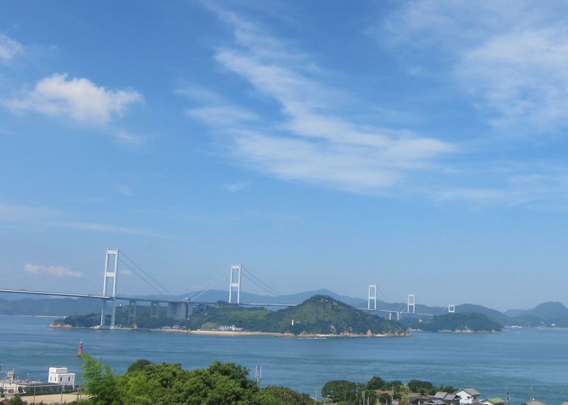 まずは来島海峡SAから!今治側からのしまなみ海道一望スポット