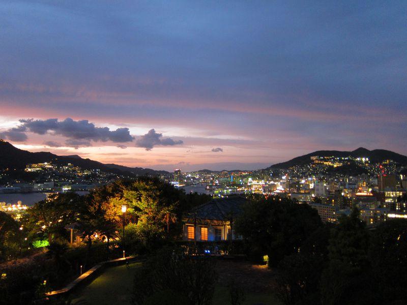 世界遺産の長崎・グラバー邸は日本新三大夜景の夜景スポット!