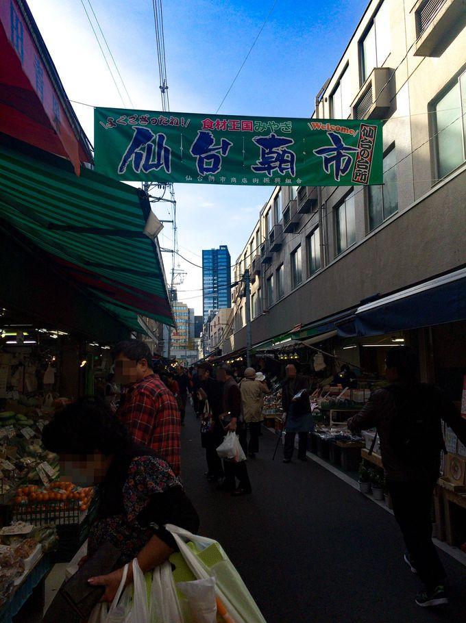 観光客でも訪れやすい仙台の台所「仙台朝市」