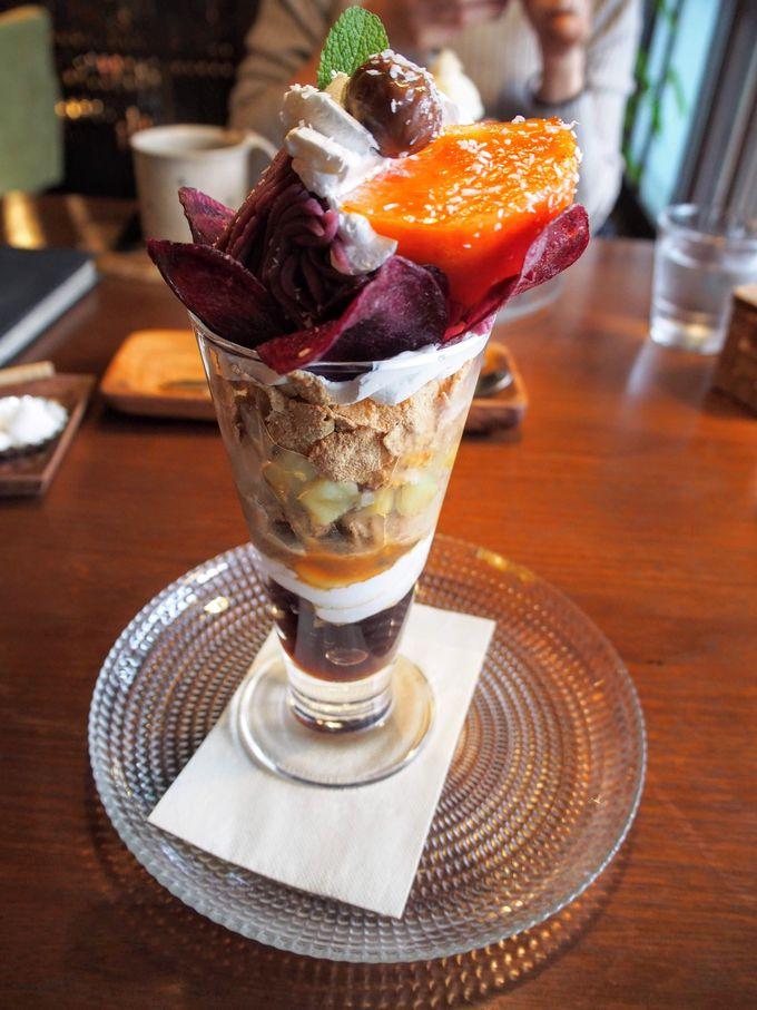 おまけ:「cafe ことだま」のパフェ&かき氷もおすすめ