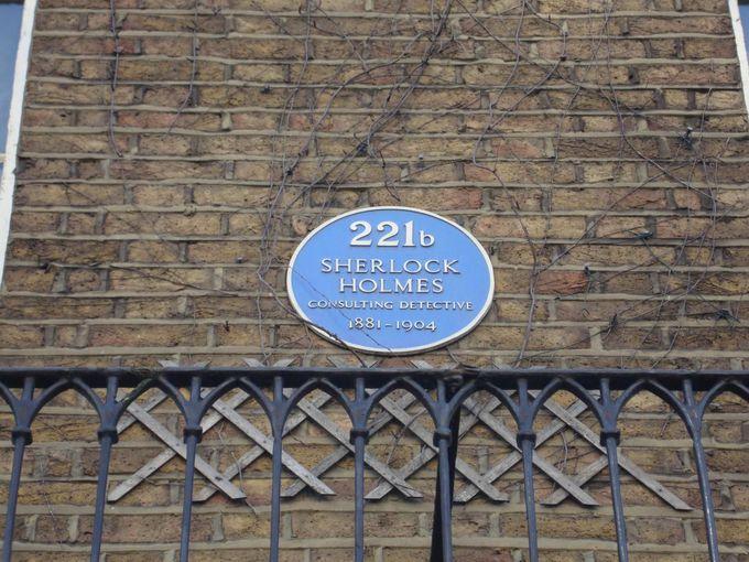 ホームズも著名人の仲間入り ブルー・プラーク