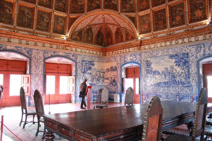 アラブとヨーロッパが混在する空間「シントラ宮殿」