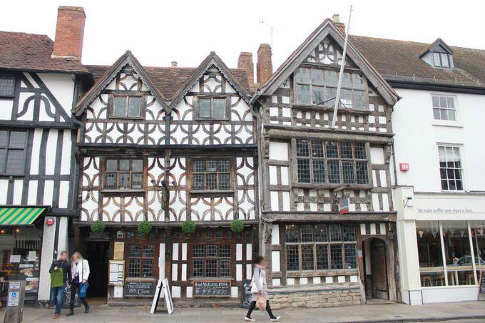 歴史を感じる伝統的建築「ハーフティンバー様式」