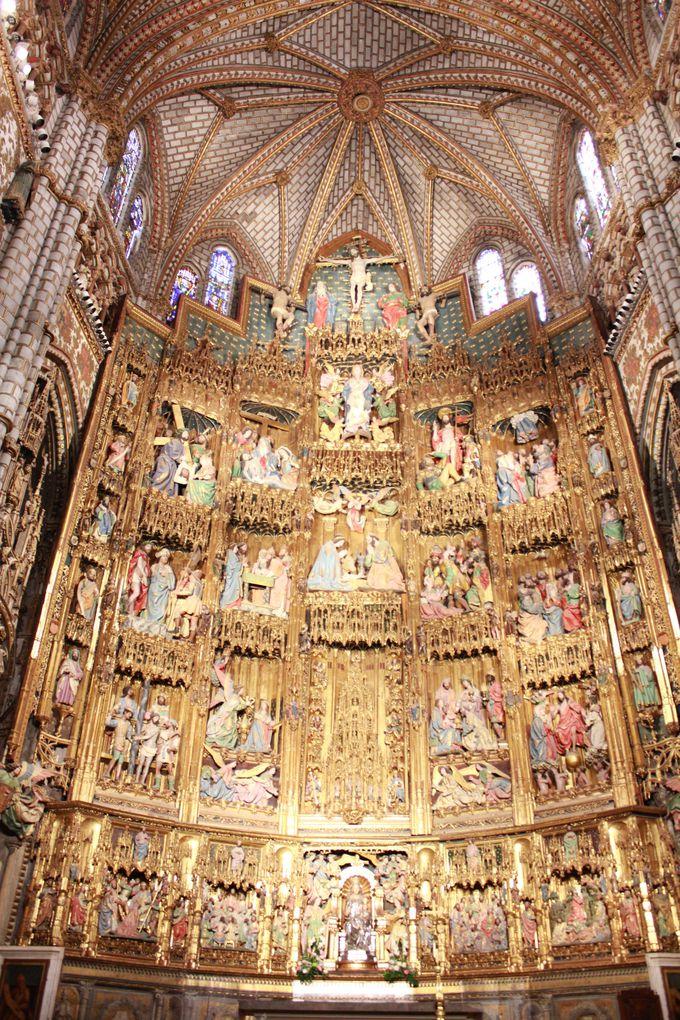 黄金の祭壇に目を奪われる スペイン・カトリックの総本山「サンタ・マリア・デ・トレド大聖堂」
