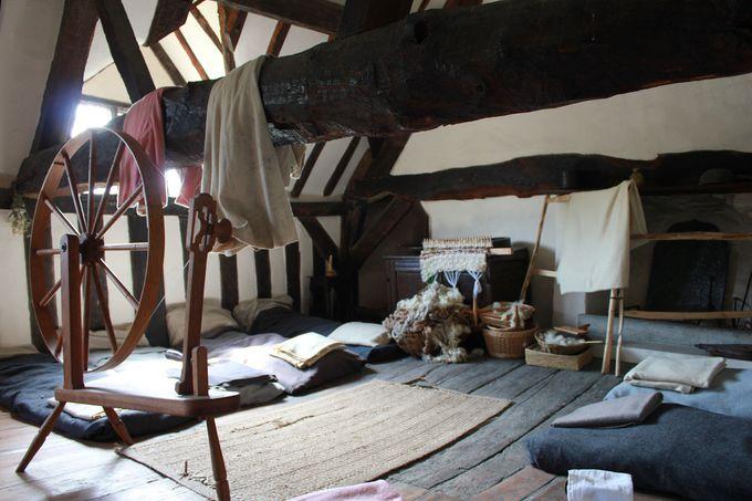 「パーマーの農場」で知るテューダー寝室事情