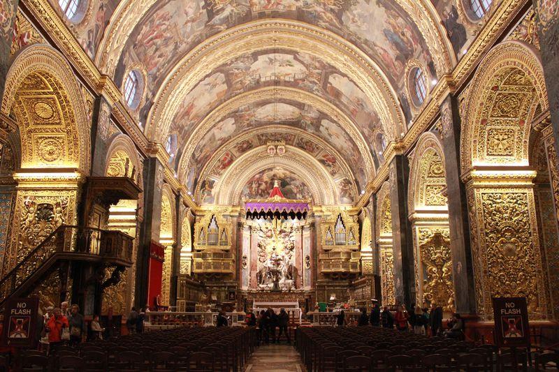 マルタ共和国の首都「ヴァレッタ」街全体が世界遺産の要塞都市