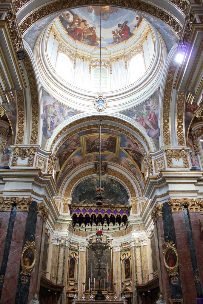 マルタ共和国最古の教会「聖パウロ大聖堂」